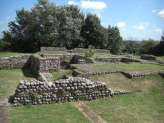Richborough Castle Roman fort