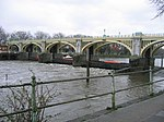 Richmond Footbridge, Lock and Sluices