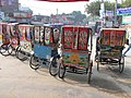 Rickshaws in Rajshahi 04.jpg