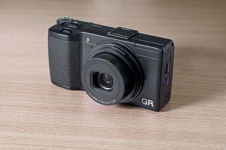 Ricoh GR (large sensor compact camera)