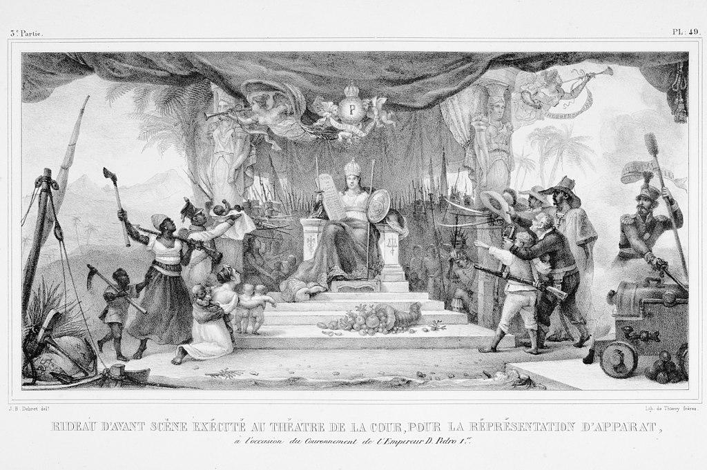 File:Rideau d\'avant scéne exécuté au théatre de la cour, pour la ...