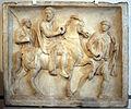 Rilievo funebre giustiniani, con un cavaliere romano, coll. giustiniani, 170 dc ca.JPG