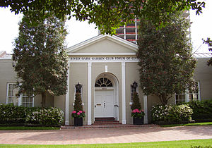 River Oaks, Houston - The River Oaks Garden Club Forum of Civics, located in Upper Kirby