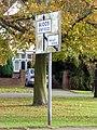 Road Sign, The Ridgeway, Enfield - geograph.org.uk - 1761542.jpg