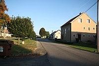 Road in Kněževes, Žďár nad Sázavou District.jpg