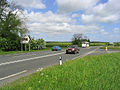 Road junction on the A1 - geograph.org.uk - 438524.jpg