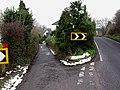 Road to Marshborough and Marshborough Road - geograph.org.uk - 1658514.jpg
