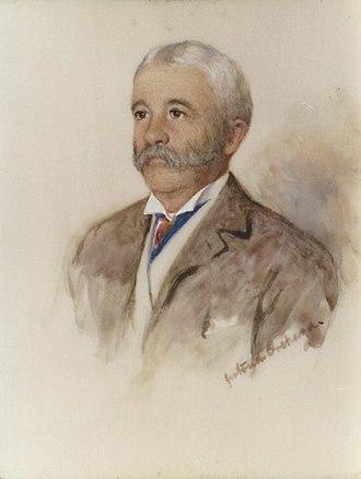 Robert Gilmour Leckie - Portrait of Robert Gilmour Leckie