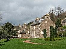 Casa de Robert Owen en New Lanark.