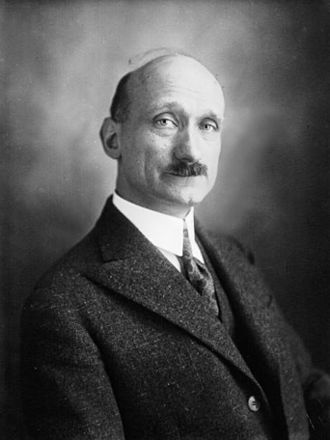 Robert Schuman - Portrait of Robert Schuman, député from Moselle (1929).