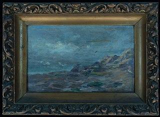 Rochas e mar (atribuído)