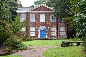 Listed buildings in Farnworth - Image: Rock hall visitor centre in moses gate country park
