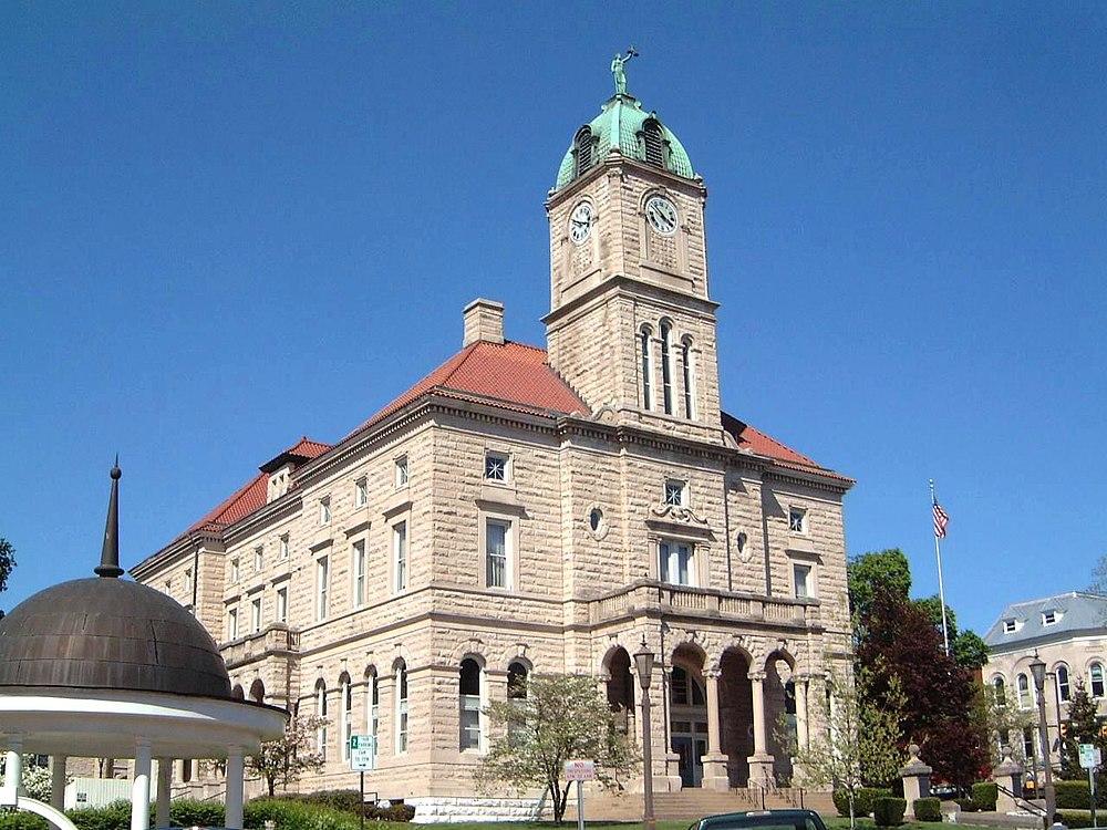 The population density of Harrisonburg in Virginia is 1141.1 people per square kilometer (2955.43 / sq mi)