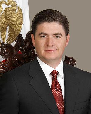 Rodrigo Medina de la Cruz - Image: Rodrigo Medina de la Cruz Gobernador