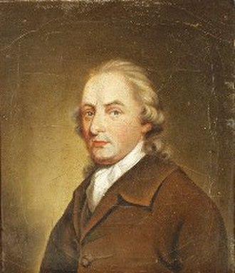 Roger Kemble - Portrait by Thomas Beach c.1786