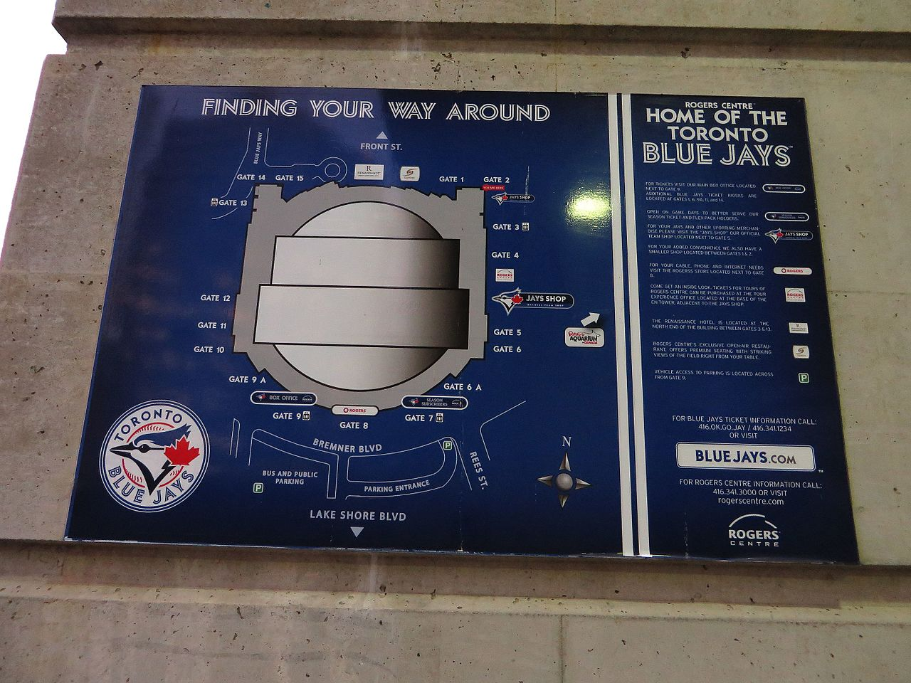 Ontario Canada Downtown File:Rogers Centre, To...