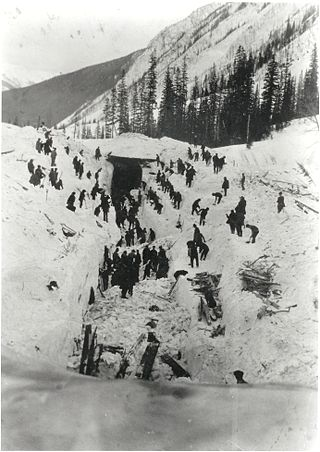 1910 Rogers Pass avalanche