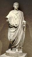 Toga di imperatore romano