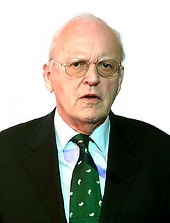 Roman Herzog former President of the Federal Republic of Germany