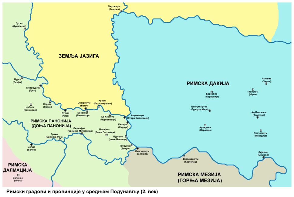 Roman cities Vojvodina-sr