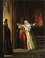 Rosalie Caron - Mathilde et Malek-Adhel surpris dans le tombeau de Montmorency par l'archevêque de Tyr.jpg