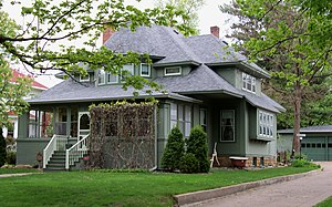 National Register of Historic Places listings in Pierce County, Wisconsin - Image: Roscius S. and Lydia R. Freeman House 1