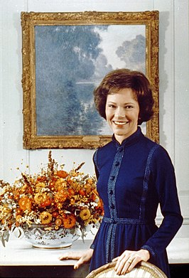 Rosalynn Carter in 1977