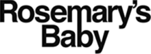 Rosemary's Baby movie black logo.png