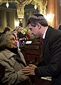 Rosen Plevneliev in Sofia Synagogue, December 2014. III.jpg