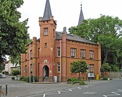 Red town hall