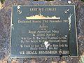 Royal Australian Navy Memorial, Kangaroo Point, Queensland 02.JPG