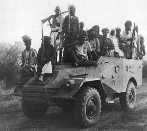 BTR-40 - Ex-Egyptian BTR-40 captured by the royalist guerrillas during the North Yemen Civil War