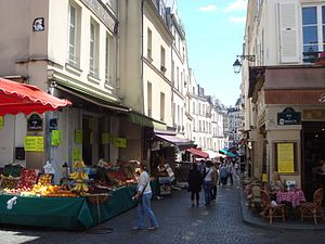 Corner of the rue Mouffetard with the rue de l...