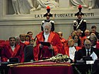 Ruggero Pesce - President of the Milan Court of Appeal - opens ufficially the judicial year 2010.JPG