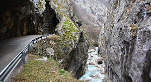 Image of Rugova Canyon: http://dbpedia.org/resource/Rugova_Canyon