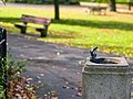 Ruskin Park, Lambeth, London -water fountain-9October2012.jpg