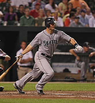 Russell Branyan - Branyan at-bat for the Mariners in 2009.