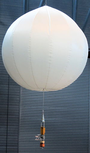 Vega 1 - Vega balloon probe on display at the Udvar-Hazy Center of the Smithsonian Institution