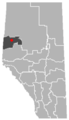 Rycroft, Alberta Location.png