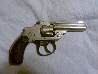 Smith & Wesson Safety Hammerless - Image: S&W Lemon Squeezer