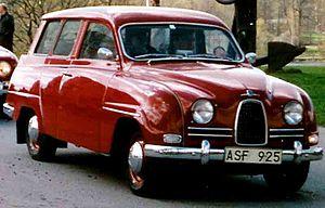 Saab 95 - Image: SAAB 95 De Luxe 1961