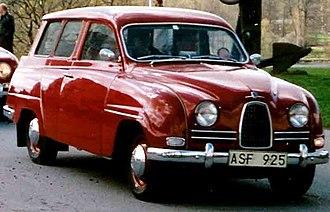 Sixten Sason - Image: SAAB 95 De Luxe 1961