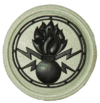 SANDF Qualification Improvised Explosive Device Disposal IEDD badge embossed.png