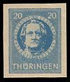 SBZ Thüringen 1945 98B Johann Wolfgang von Goethe.jpg