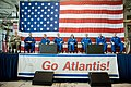STS-125 Crew Return Ceremony and Autograph Session at Ellington Field (28249323711).jpg