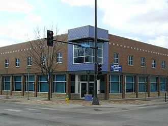 North Omaha, Nebraska - The southwest corner of 24th and Lake Streets in North Omaha