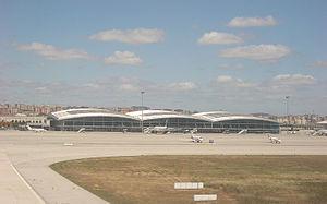 2015 Sabiha Gökçen Airport bombing - Image: Sabiha Gökcen (back)