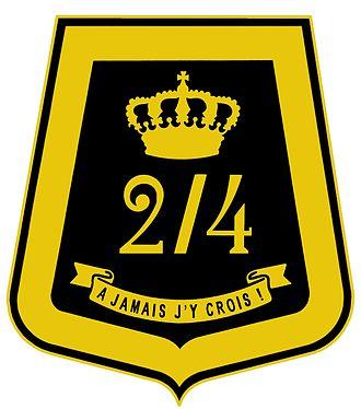 2/4th Chasseurs à Cheval Regiment - Sabretache of 2nd/4th Regiment Mounted Rifles.