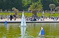 Sailboats 1, Jardin du Luxembourg, Paris 18 May 2014.jpg