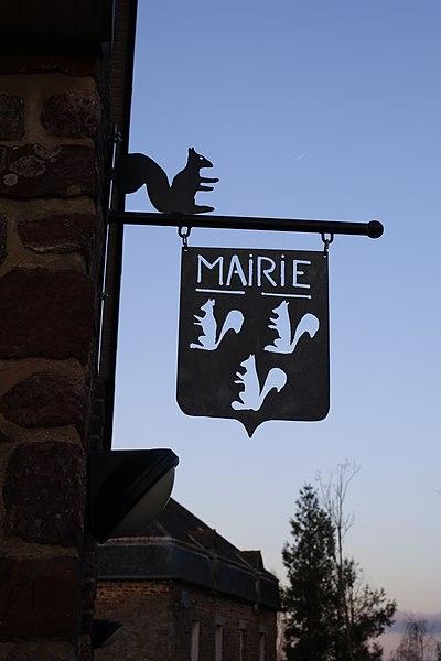 Mairie de Saint-Malon-sur-Mel.